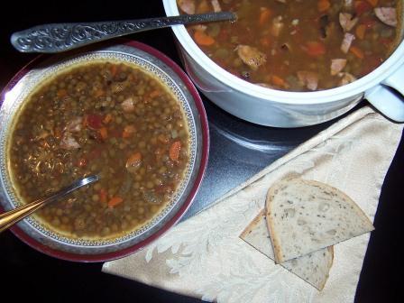 Lentils soupFIT