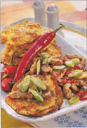 Gourmet Sliced Pork with Mirasol Peppers