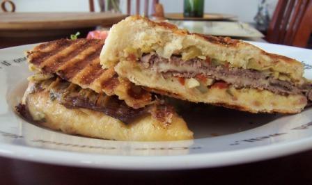 Philly Cheese steak Panini