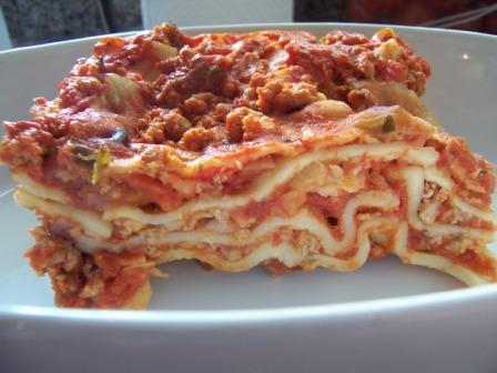 My traditional lasagna