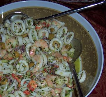 Seafood Party Salad