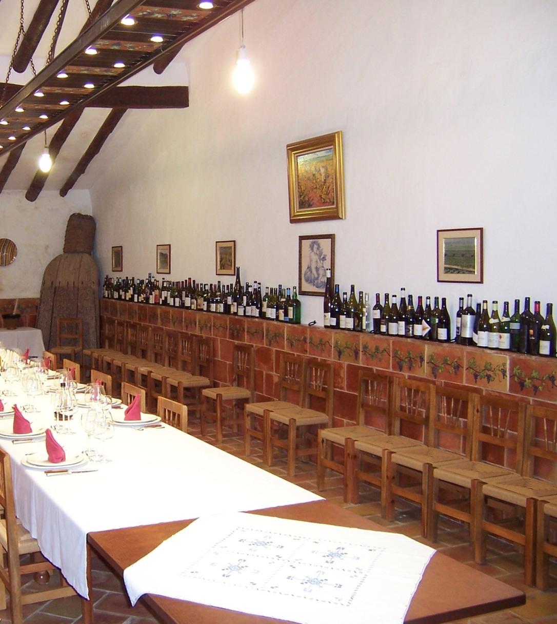 Casa Castillo Tasting room (photo Vera Czerny)