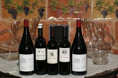 Casa Castillo wines (photo Vera Czerny)