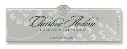 Christine Andrew Cab 2007 label