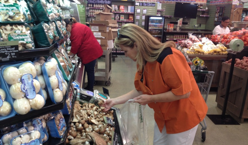 Although this blog is about Publix, here I am shopping another day in Whole Foods