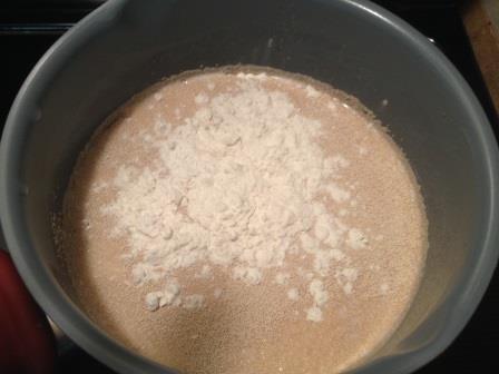 Starting the yeast