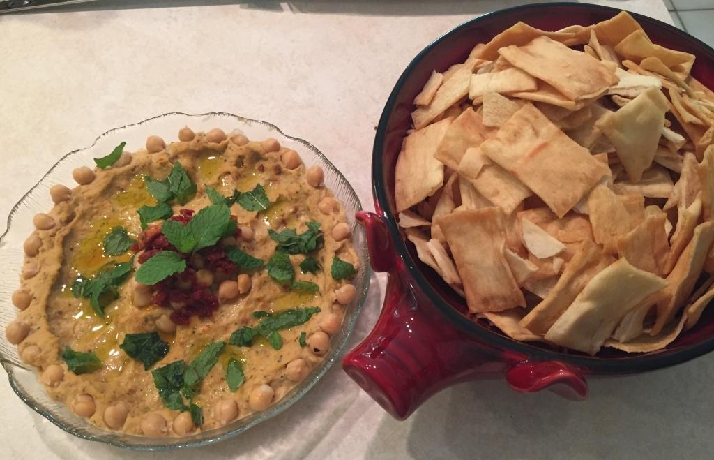 Chef Vera's Spicy homemade hummus