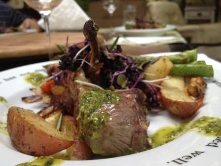 Perfect lamb chops