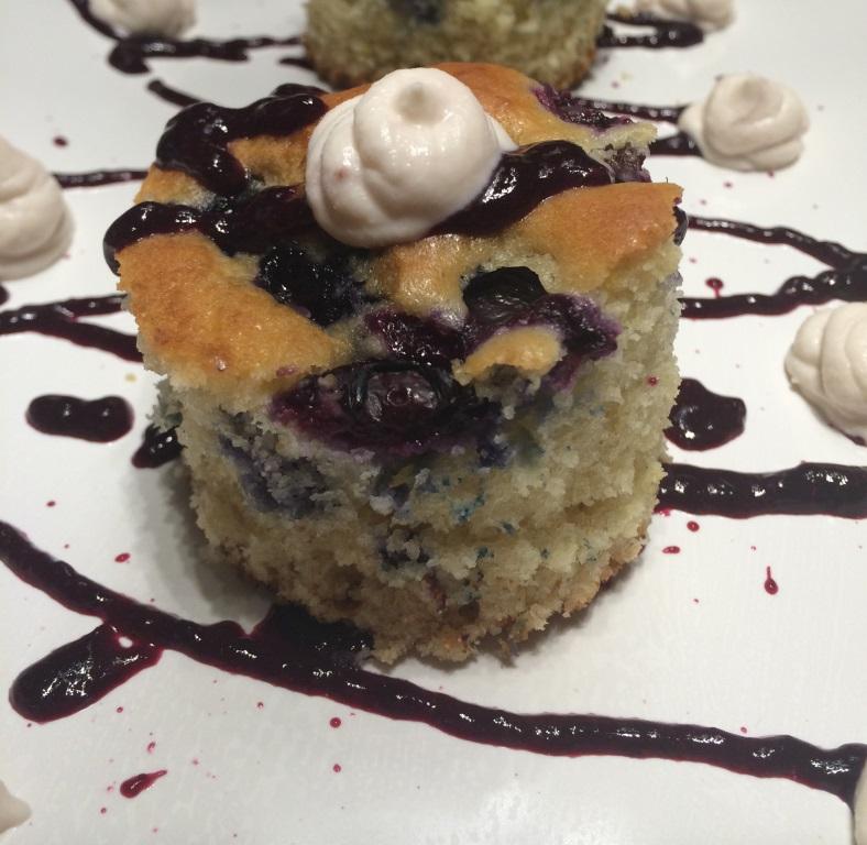 Blueberry Bubble Cake variation