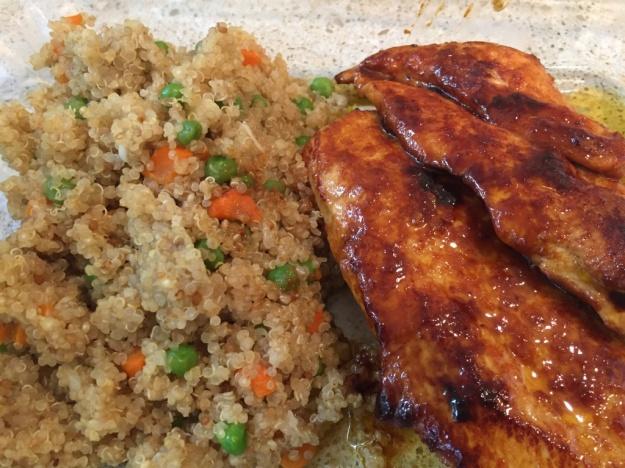 Honey Orange BBQ Chicken